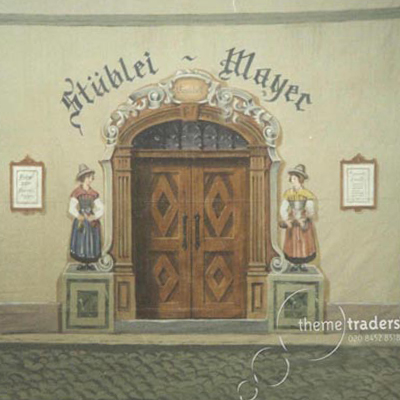 Bavarian Backdrops Props, Prop Hire