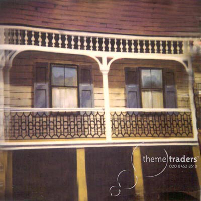 New Orleans Balcony Backdrops Props, Prop Hire