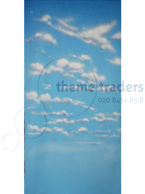 Clouds Backdrops Blue Sky Props, Prop Hire