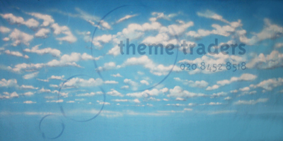 Cloud Backdrops Props, Prop Hire