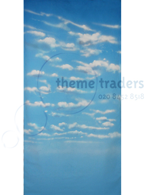 Sky  Backdrops hire Props, Prop Hire