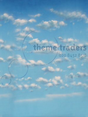 Clouds Backdrops Props, Prop Hire