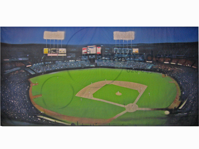 Baseball Pitch Backdrops Props, Prop Hire