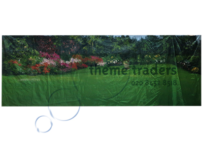 Garden Backdrop Country House Props, Prop Hire