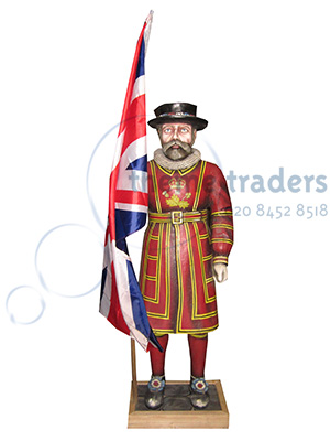 Beefeater Statue Props, Prop Hire