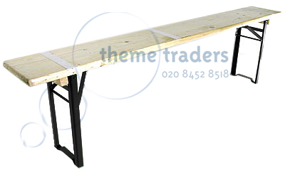 Trestle Benches Props, Prop Hire