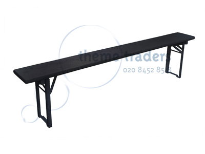 Trestle Bench with Folding Legs Props, Prop Hire