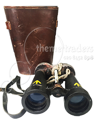 Large Sized Vintage Binoculars Props, Prop Hire