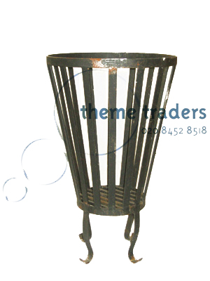 Braziers - Black Iron Props, Prop Hire