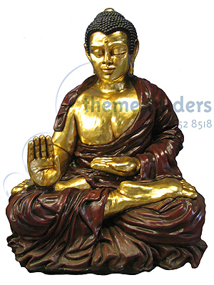 Buddha Seateds Statues Props, Prop Hire