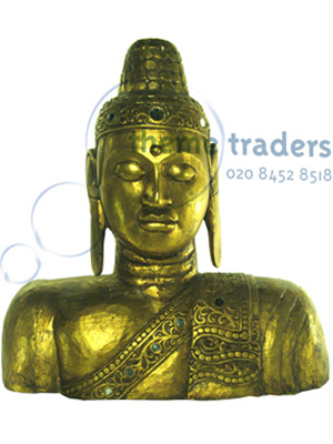 Budha Bust Statues Props, Prop Hire