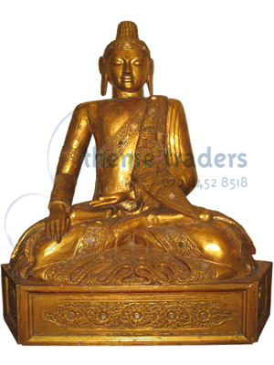 Buddha Sitting Statues Props, Prop Hire