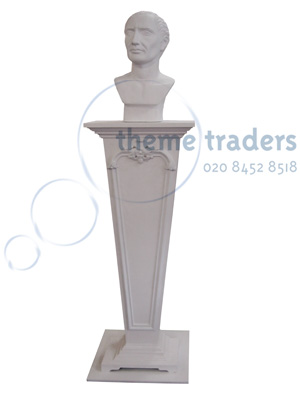 Bust on Plinth Props, Prop Hire