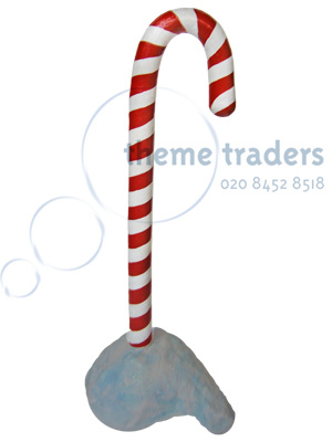 Giant Candy Cane Props, Prop Hire