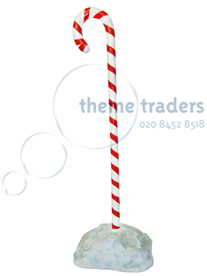Freestanding Candy Cane Props, Prop Hire
