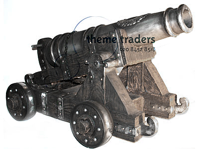 Military Cannon Statues Props, Prop Hire