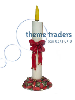 Candle Light Up Statues Props, Prop Hire