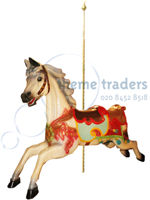 Giant Carousel Horse Statues Props, Prop Hire