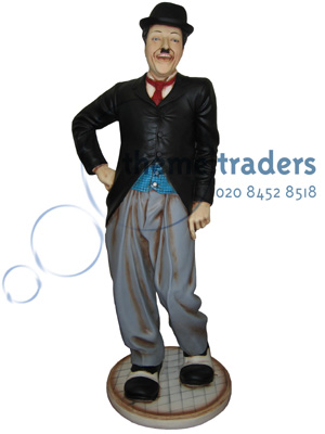 Charlie Chaplin Statues Props, Prop Hire