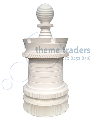 Giant Chess Piece White Props, Prop Hire