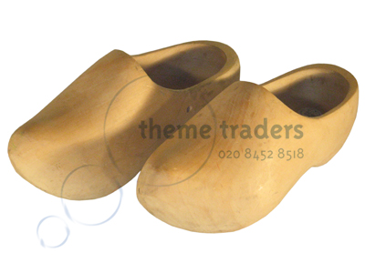 Clogs oversized Props, Prop Hire