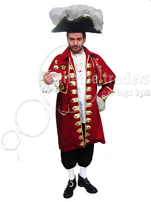 Town Crier Costume Props, Prop Hire