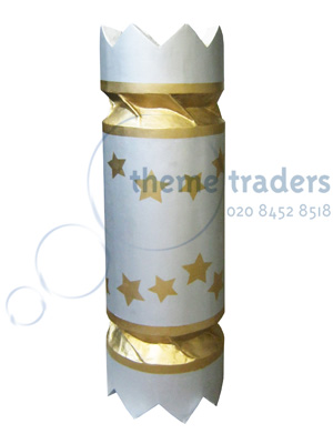 Giant Christmas Cracker Props, Prop Hire