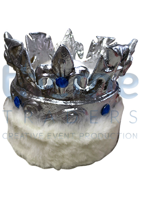 White trim kings crown Props, Prop Hire