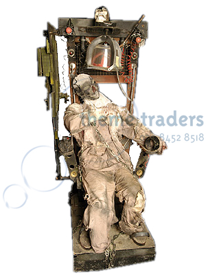Electric Chairs with corpses Props, Prop Hire