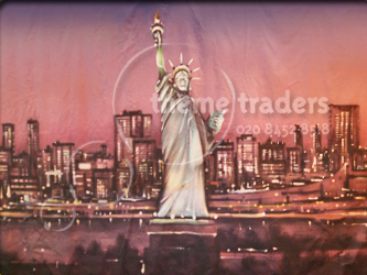 Manhattan Backdrops - Statue of Liberty